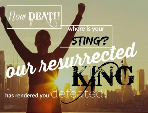 Death: Where Is Your Sting?